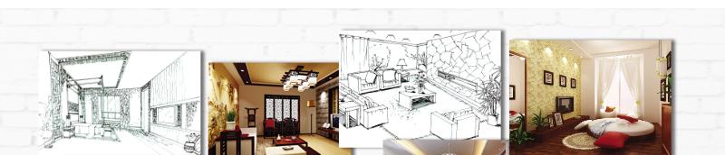 欧式室内设计展板排版